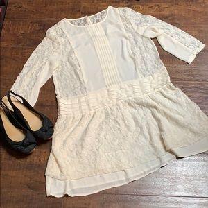 Lacy Mini Dress or Tunic